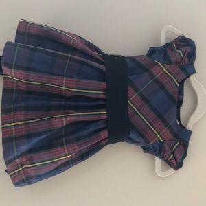 Ralph Lauren Infant Plaid Holiday Dress